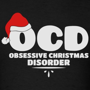 OCD Obsessive Christmas Disorder Long Sleeve Shirts - Men's T-Shirt