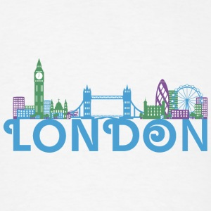London Skyline Caps - Men's T-Shirt