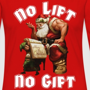 Santa Claus - No Lift, No Gift T-Shirts - Women's Premium Long Sleeve T-Shirt