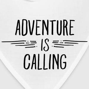Adventure Is Calling Women's T-Shirts - Bandana