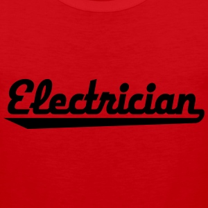 electrician T-Shirts - Men's Premium Tank