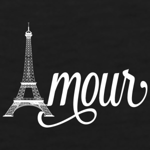 amour paris - love in french Mugs & Drinkware - Men's Premium Tank