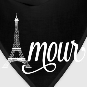 amour paris - love in french Hoodies - Bandana