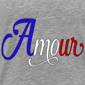 amour  - love in french Hoodies - Men's Premium T-Shirt