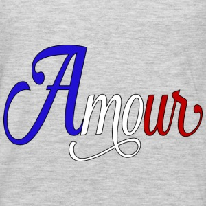 amour  - love in french Hoodies - Men's Premium Long Sleeve T-Shirt