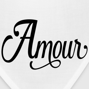 amour - love in french T-Shirts - Bandana