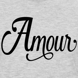 amour - love in french Kids' Shirts - Men's Premium Long Sleeve T-Shirt