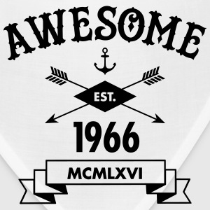Awesome Est. 1966 T-Shirts - Bandana