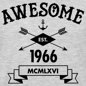 Awesome Est. 1966 T-Shirts - Men's Premium Long Sleeve T-Shirt