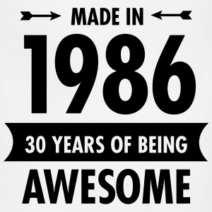 Made In 1986 - 30 Years Of Being Awesome Women's T-Shirts - Adjustable Apron