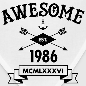 Awesome Est. 1986 T-Shirts - Bandana