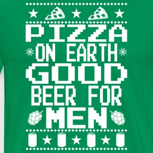Pizza On Earth Ugly Shirt Hoodies - Men's Premium T-Shirt