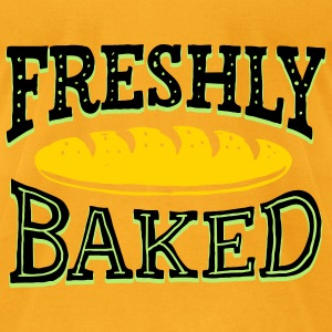 Freshly Baked - Men's T-Shirt by American Apparel