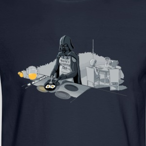 Star Wars Darth Vader is a good dad - Men's Long Sleeve T-Shirt