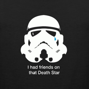 Stormtrooper I had friends on that death star - Men's Premium Tank