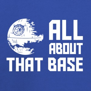 Funny Star Wars all about that base - Kids' Premium Hoodie