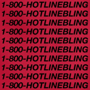 1-800-HOTLINE BLING 1800 Hotline Bling 1 800 Hoodies - Adjustable Apron