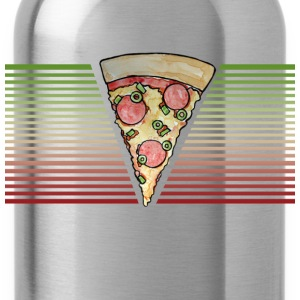 Retro Pizza - Water Bottle