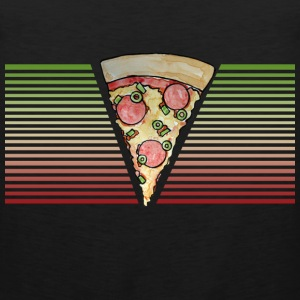 Retro Pizza - Men's Premium Tank