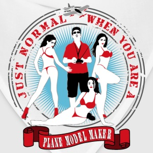 just_normal_when_you_are_a_plane_modelma T-Shirts - Bandana