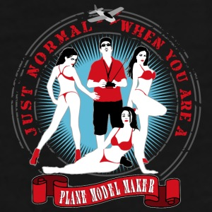 just_normal_when_you_are_a_plane_modelma Mugs & Drinkware - Men's Premium T-Shirt