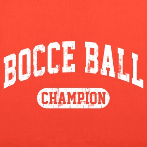 Bocce Ball Champion Women's T-Shirts - Tote Bag