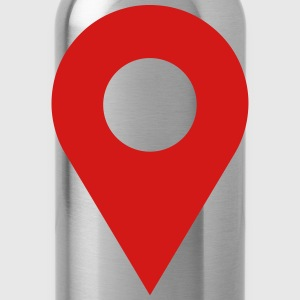 map location icon Caps - Water Bottle