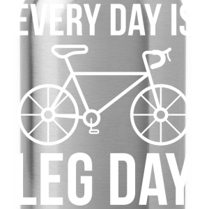 Every Day Is Leg Day - Water Bottle