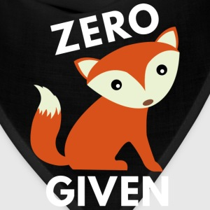 Zero Fox Given - Bandana