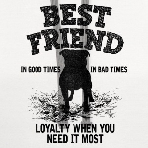 Pitbull - Best Friend, Loyalty When You Need It T-Shirts - Contrast Hoodie