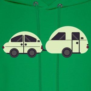Car and Caravan - Men's Hoodie