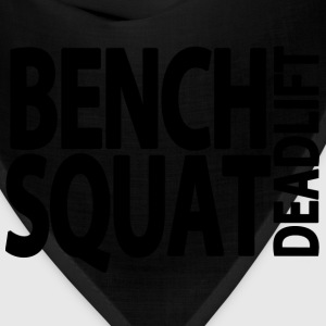 Bench Squat Deadlift Hoodies - Bandana