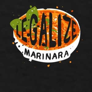 Legalize marinara Italian T-shirt Mugs & Drinkware - Men's T-Shirt