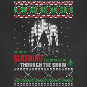 Zombie Christmas Sweater - Michonne  - Adjustable Apron