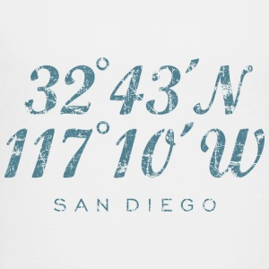 San Diego T-Shirt (Children/White) Coordinates - Toddler Premium T-Shirt