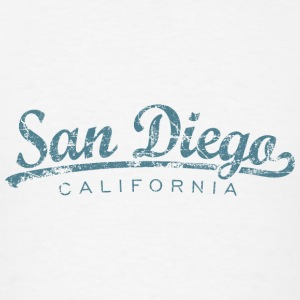 San Diego Tank Top (Women/White) Classic - Men's T-Shirt