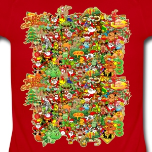 In Christmas Melt into the Crowd and Enjoy Kids' Shirts - Short Sleeve Baby Bodysuit