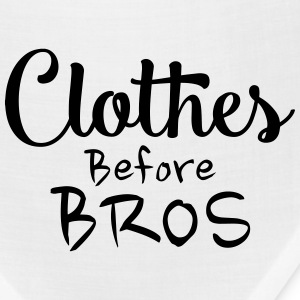 Clothes before bros - Bandana