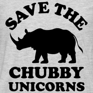 Save the chubby unicorns - Men's Premium Long Sleeve T-Shirt