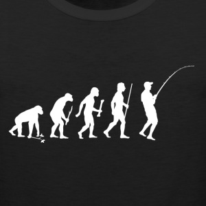 Evolution of Man Fishing - Men's Premium Tank