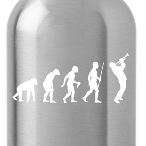 Evolution of Man Trumpet - Water Bottle