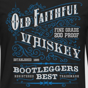 Old Faithful 200 proof - Men's Premium Long Sleeve T-Shirt