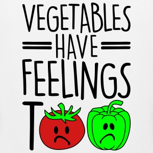 vegetables have feelings too Women's T-Shirts - Men's Premium Tank