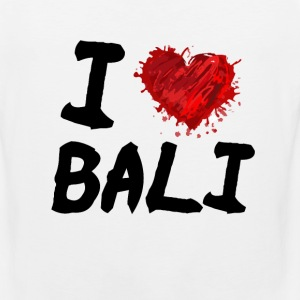 I Love Bali Women's T-Shirts - Men's Premium Tank