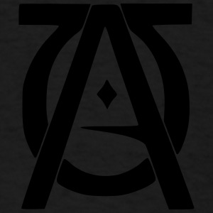 Alpha Omega Caps - Men's T-Shirt