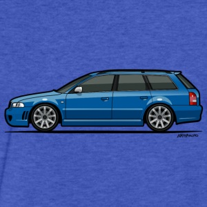 Audi RS4 B5 Nogaro Blue Sweatshirts - Fitted Cotton/Poly T-Shirt by Next Level