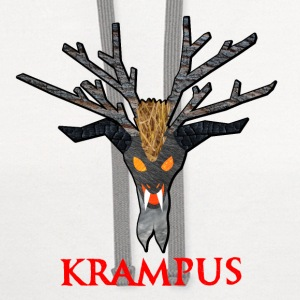 Krampus Nature Buttons - Contrast Hoodie