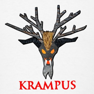 Krampus Nature Buttons - Men's T-Shirt