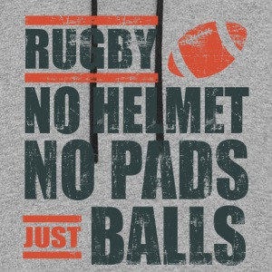 Rugby Just Balls T-Shirts - Colorblock Hoodie