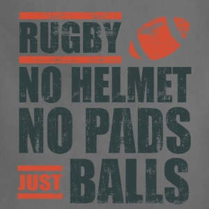 Rugby Just Balls T-Shirts - Adjustable Apron